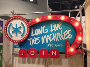 Speck sign: Long live the machines